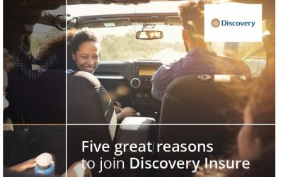 Five Great Reasons to join Discovery Insure!